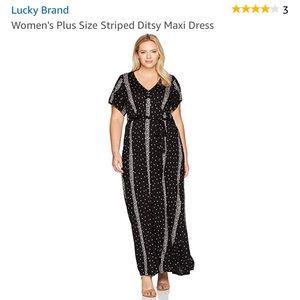 Lucky Brand plus size Maxi🍀